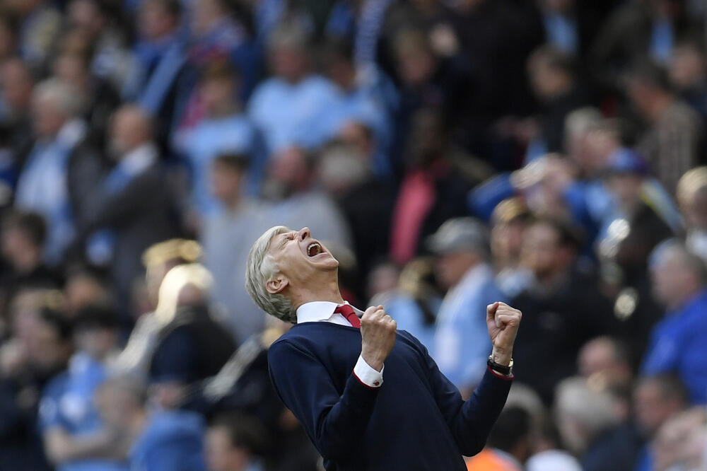 Arsen Venger Arsenal, Foto: Reuters