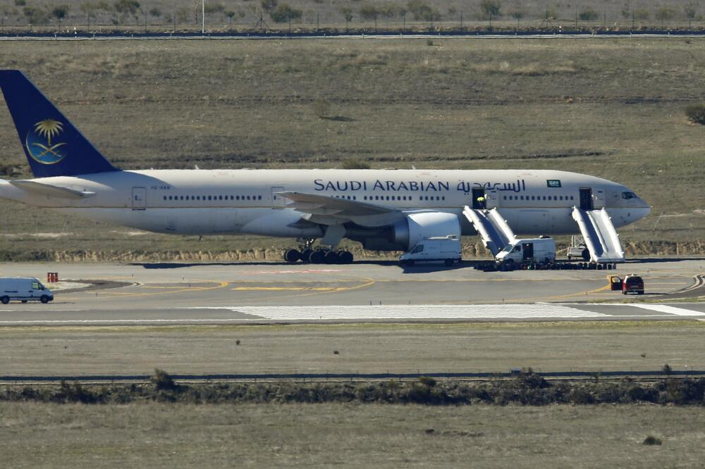 avion Saudijske Arabije, Foto: Reuters