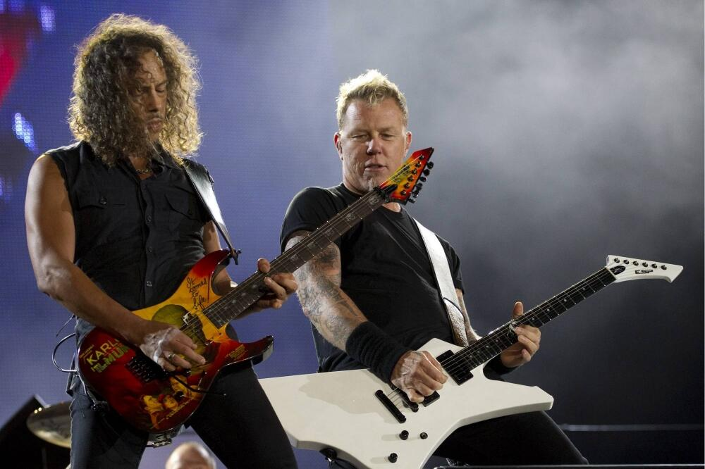 Rock in Rio, Metallica, Foto: Beta/AP