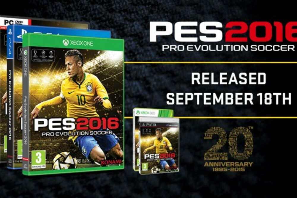 PES 2016, Foto: Screenshot
