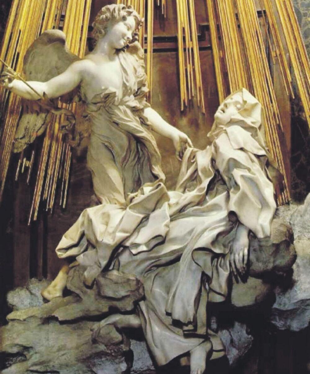 Ekstaza Svete Tereze Misticni Eros Sakralnog Zanosa