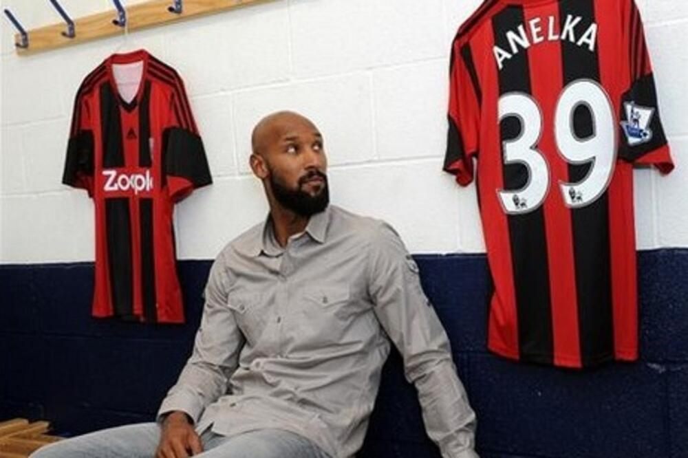 Nikolas Anelka, Foto: Wba.co.uk