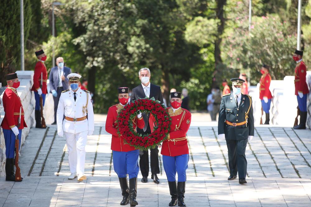 Đukanović: Crna Gora može postojati samo kao država slobodnih građana