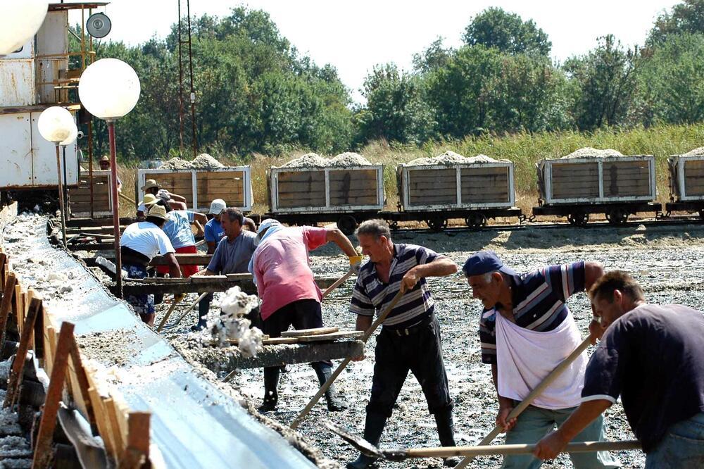 Posljednja berba soli u Ulcinju bila 2013. godine, Foto: Arhiva Vijesti