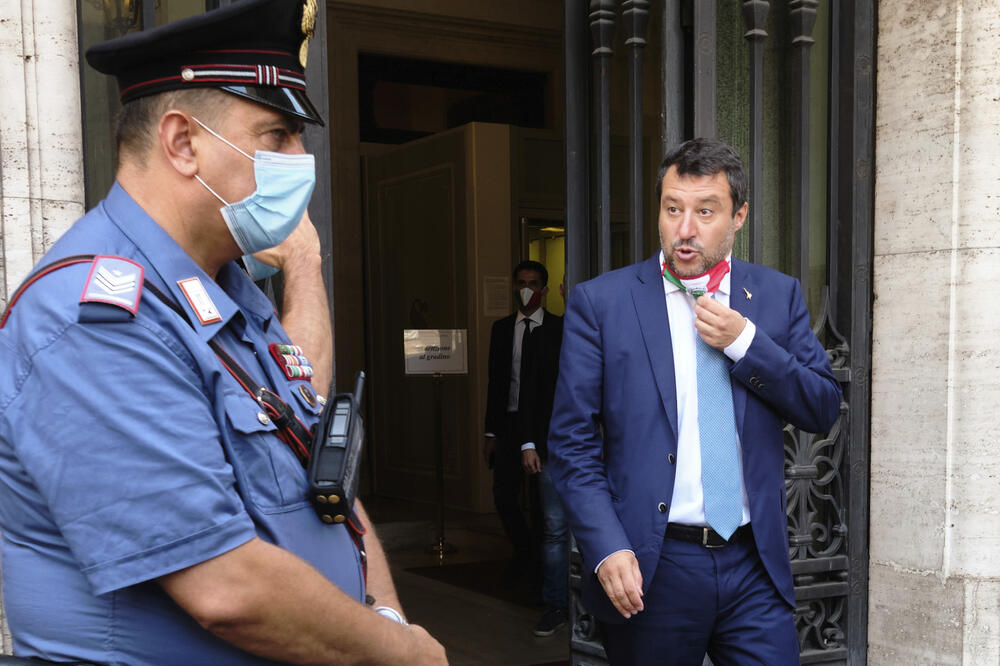 Salvini, Foto: AP Photo