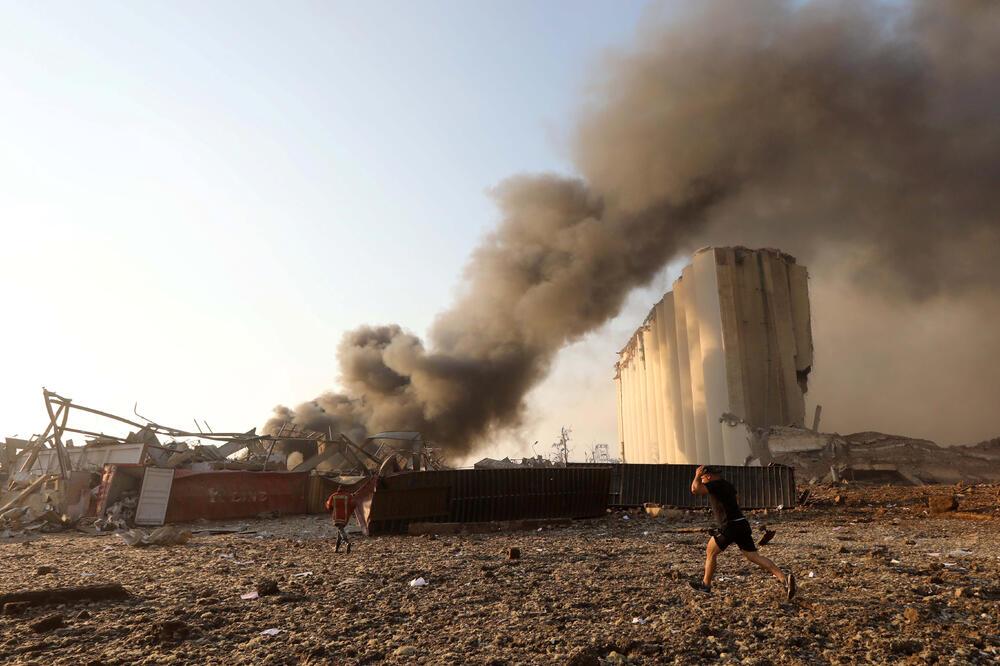Sa mjesta eksplozije, Foto: Reuters