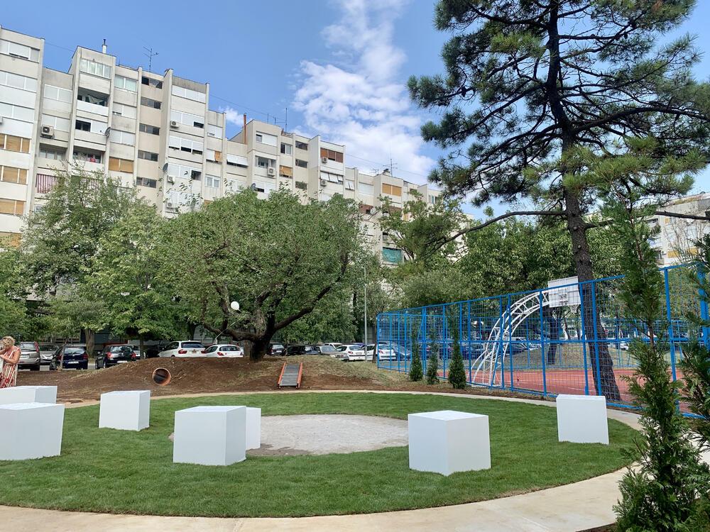 Postavljen video nadzor na dječjem igralištu u Podgorici