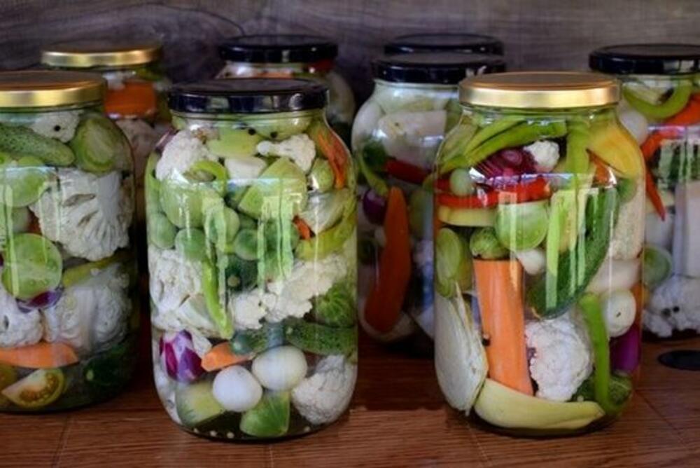 Bez konzervansa: Miješana salata od povrća za zimu