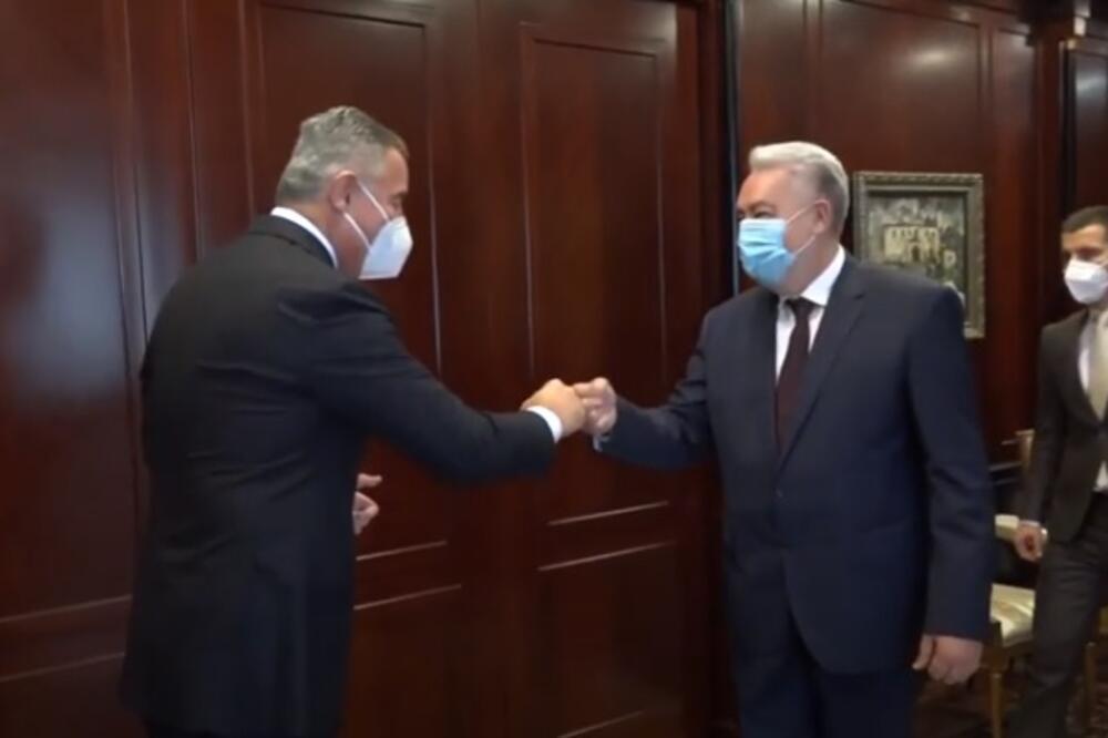 Đukanović i Krivokapić, Foto: Služba za informisanje Predsjednika Crne Gore