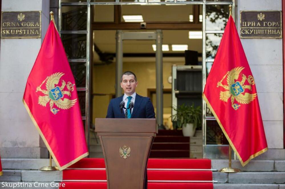 Bečić, Foto: Skupština Crne Gore