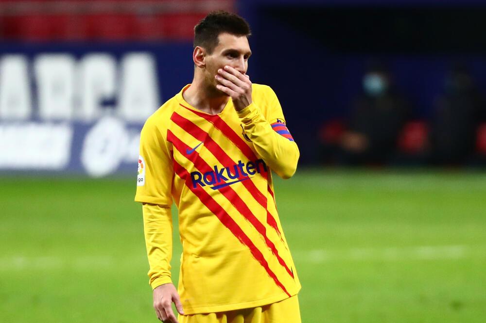 Mesi na sinoćnjoj utakmici, Foto: Reuters