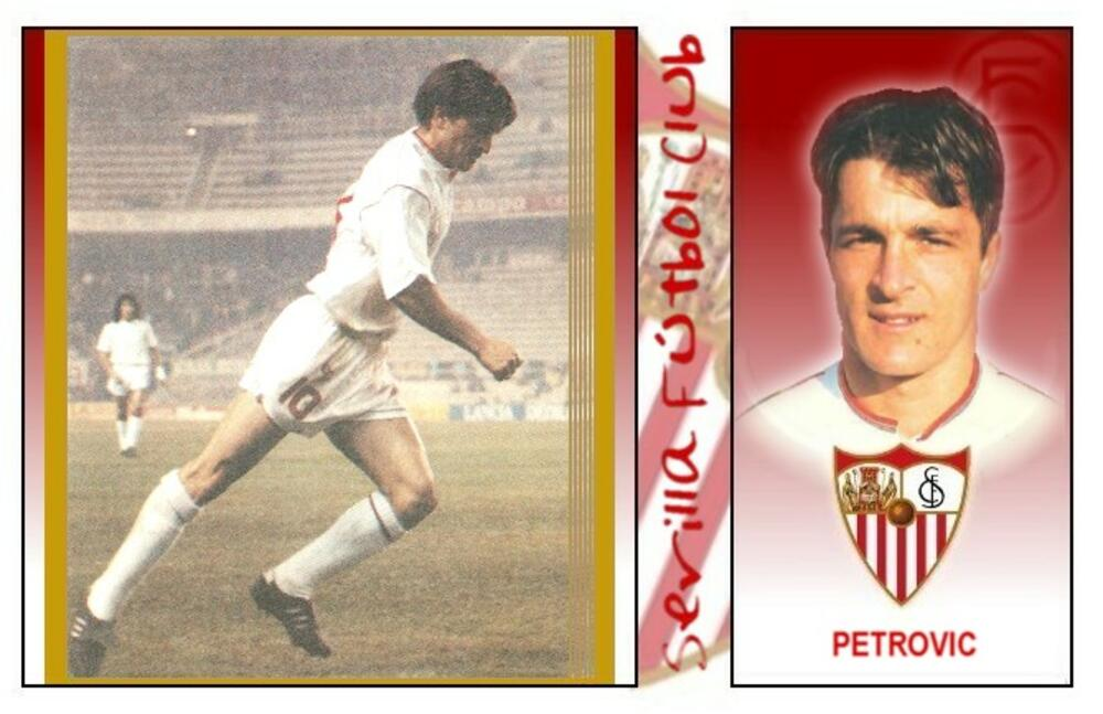 Željko Petrović dok je igrao za Sevilju