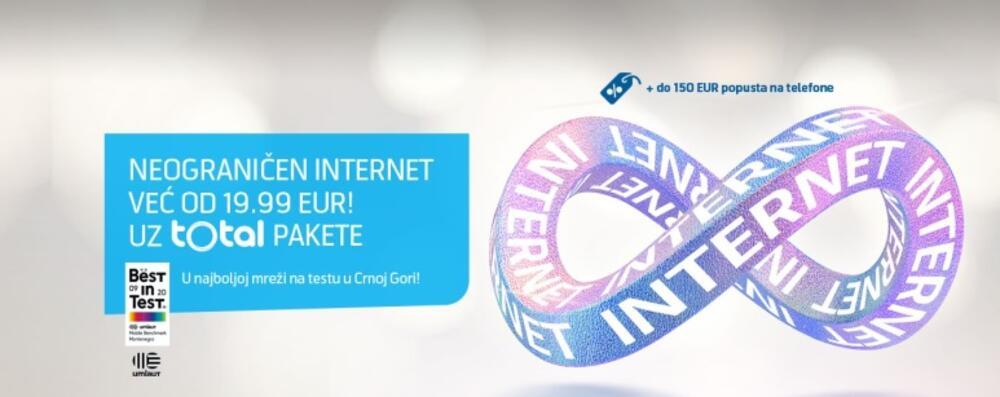 Neograničeni internet u Telenoru, najboljoj mreži na testu