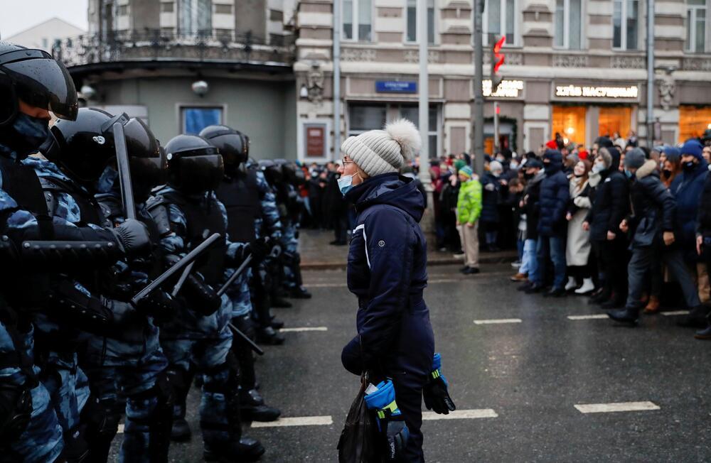 Kremlj proteste smatra ilegalnim