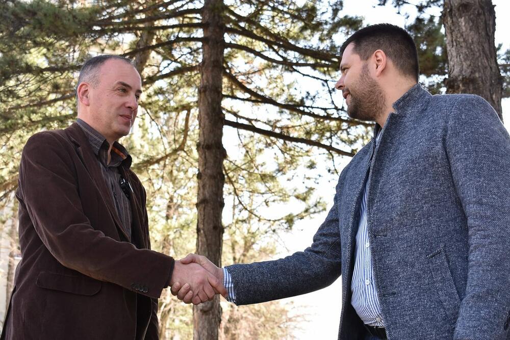 Aleksandar Perović i Marko Kovačević