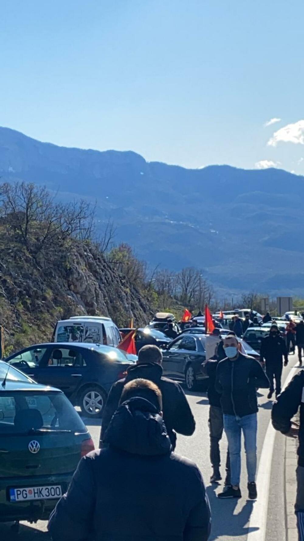 udes put Podgorica-Nikšić