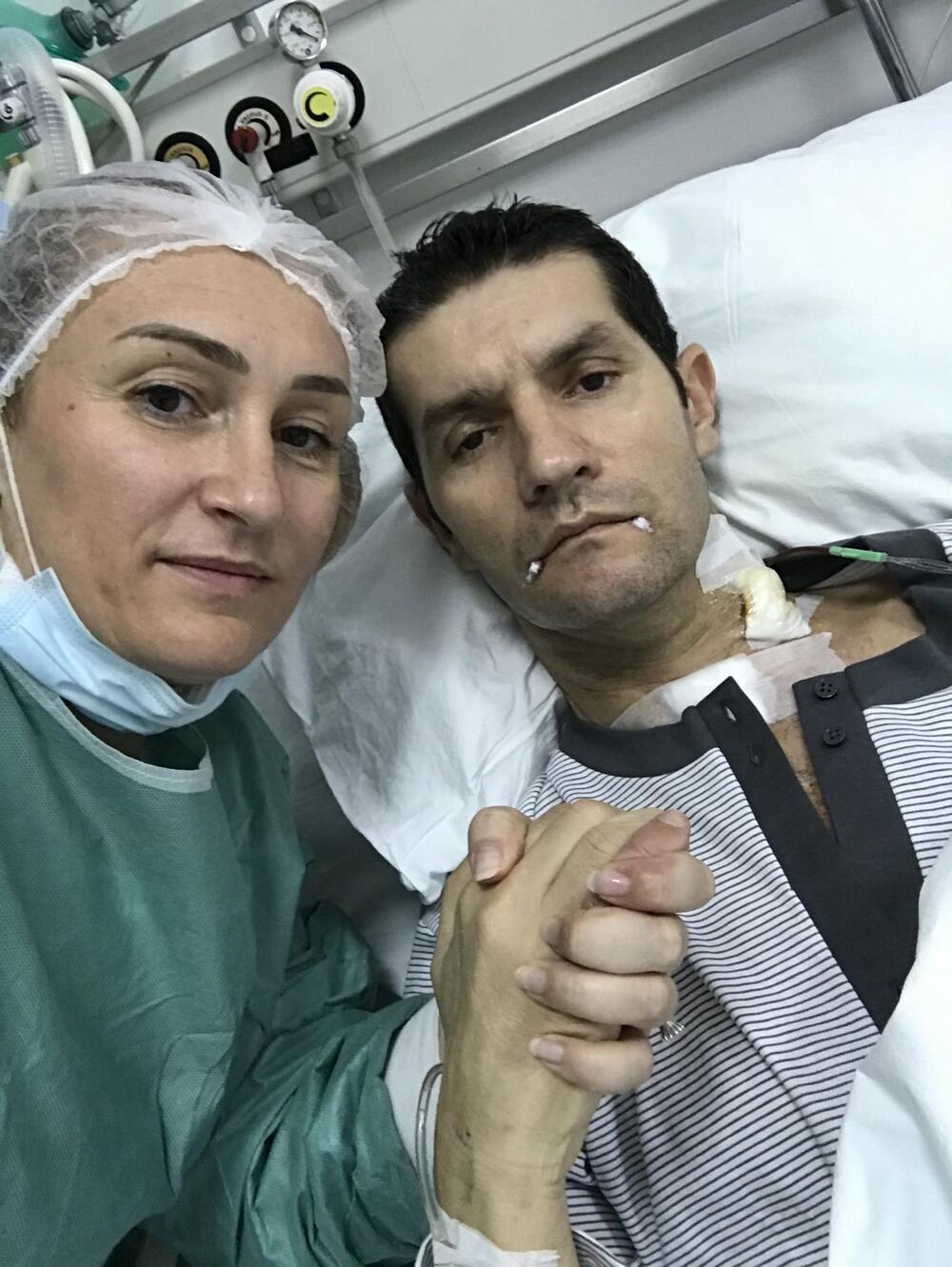 Jovović u bolničkoj postelji