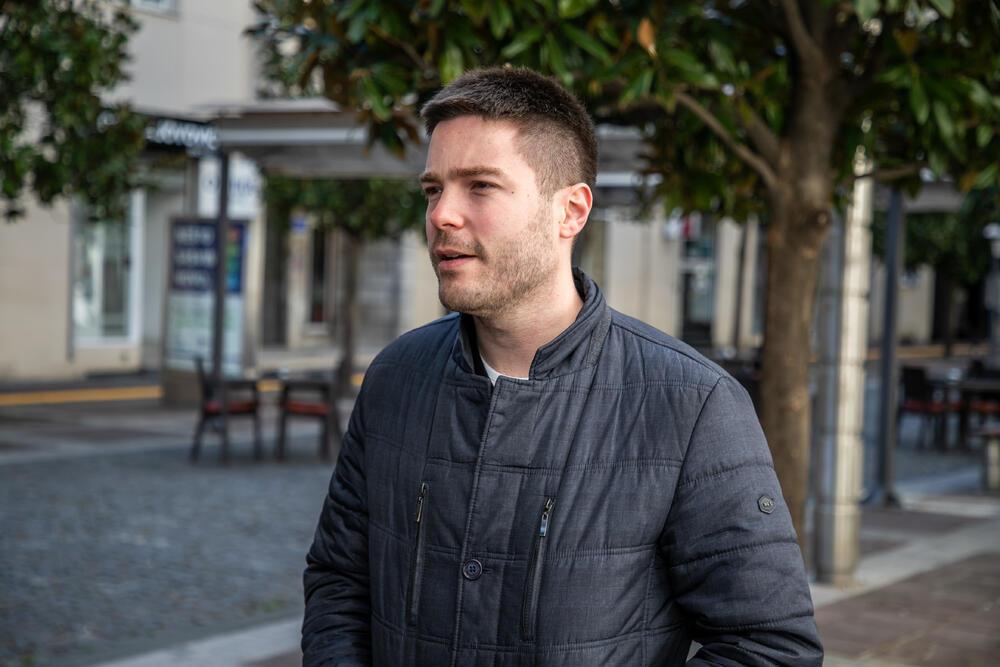 Stefan Jelušić je prvi put krv dao za člana porodice, sada je nenamjenski davalac