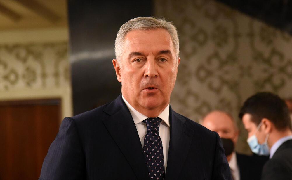 Njegova partija bojkotovala glasanje: Đukanović