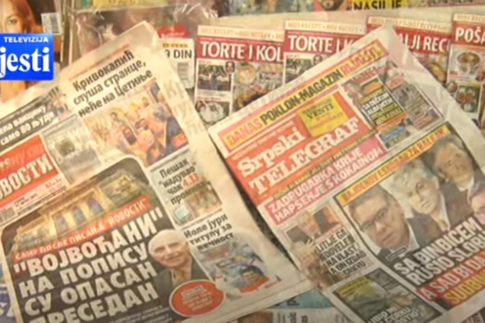 Medijsko ulje na političke vatre