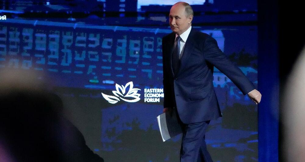 Putin juče na sjednici Istočnog ekonomskog foruma u Vladivostoku
