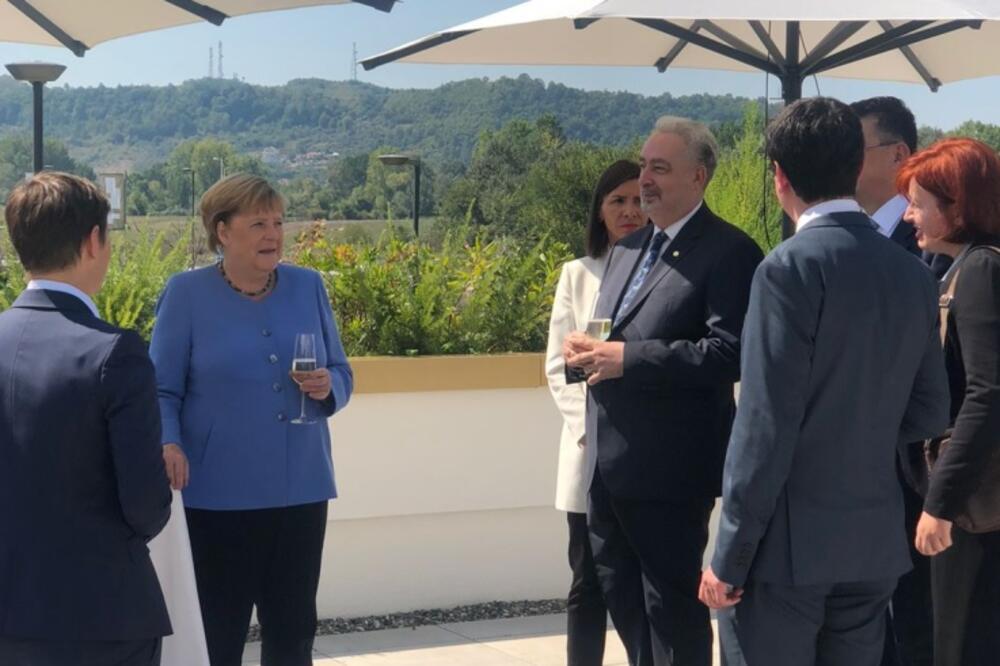 Merkel i Krivokapić u Tirani, Foto: Vlada Crne Gore
