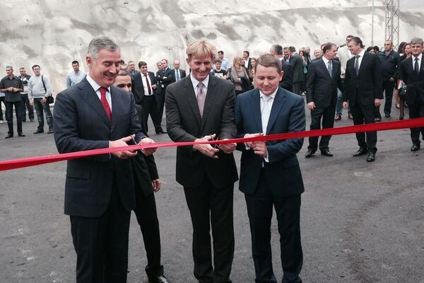 Sa otvaranja postrojenja u Budvi